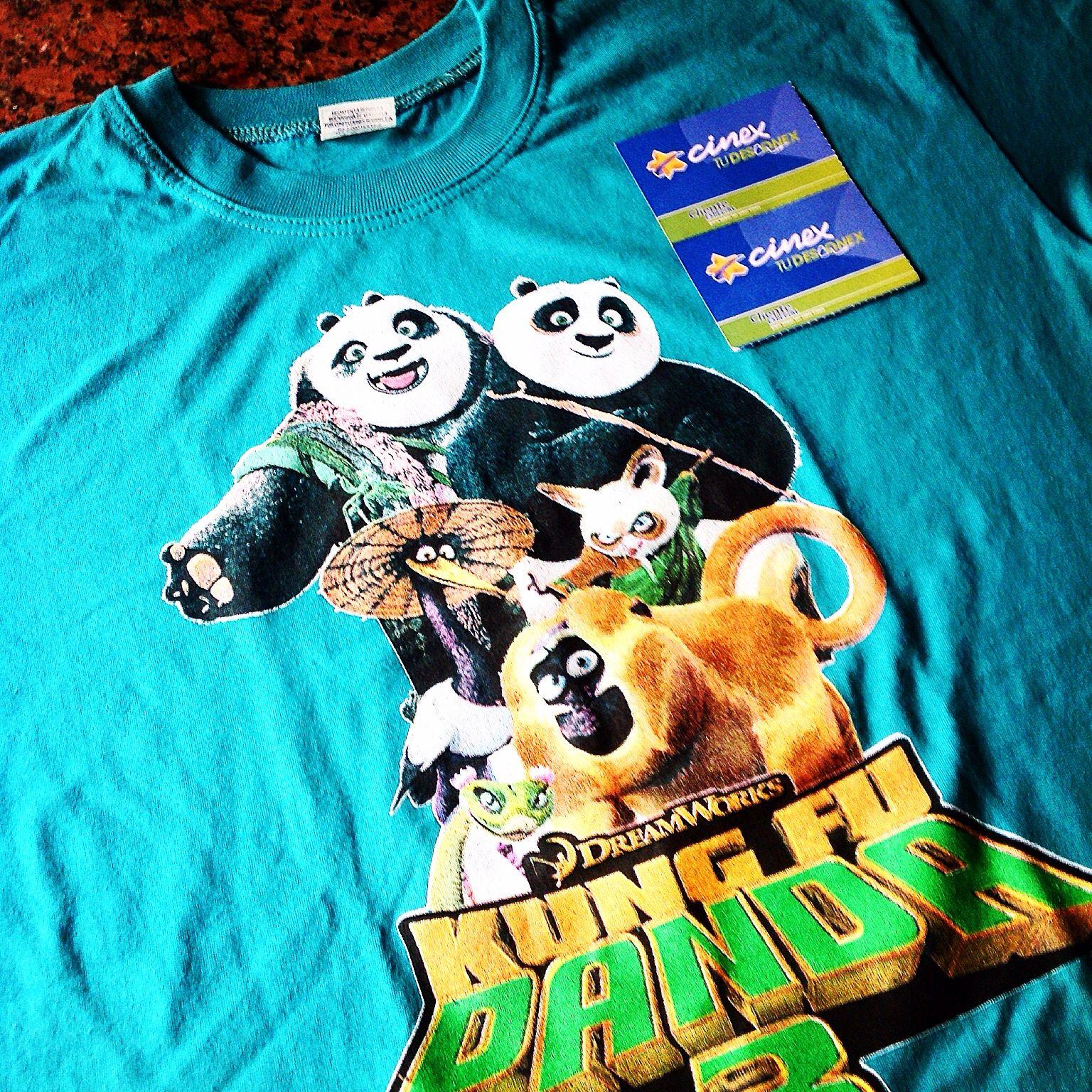 Kung Fu Panda 3 - Franela