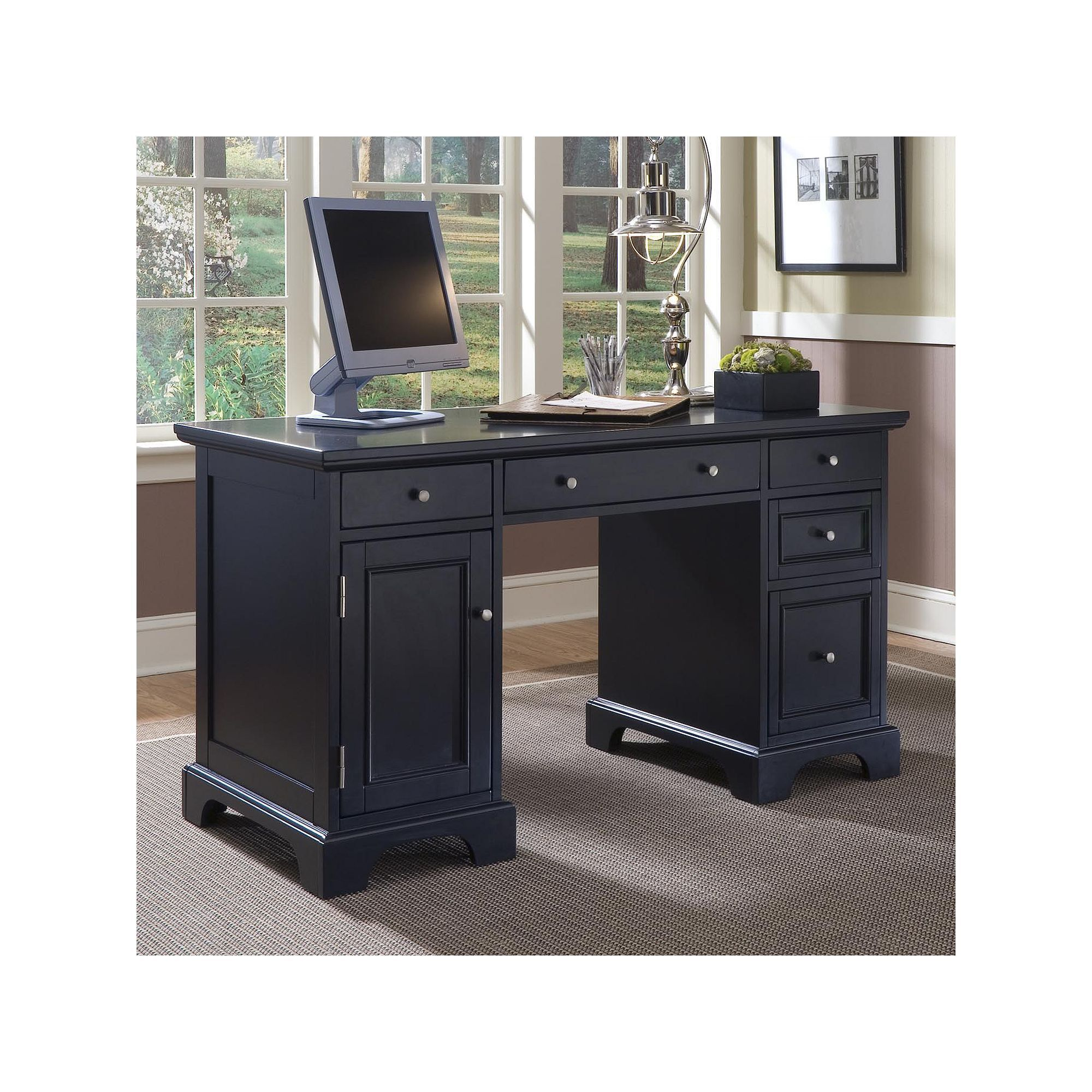 home styles bedford pedestal desk in 2019 products pinterest rh pinterest com