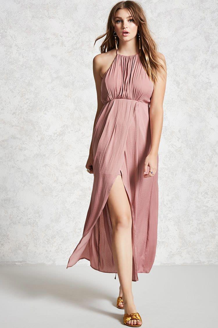 Vestido Maxi - Contemporary - Mujer - Nuevos - 2000113409 - Forever ...