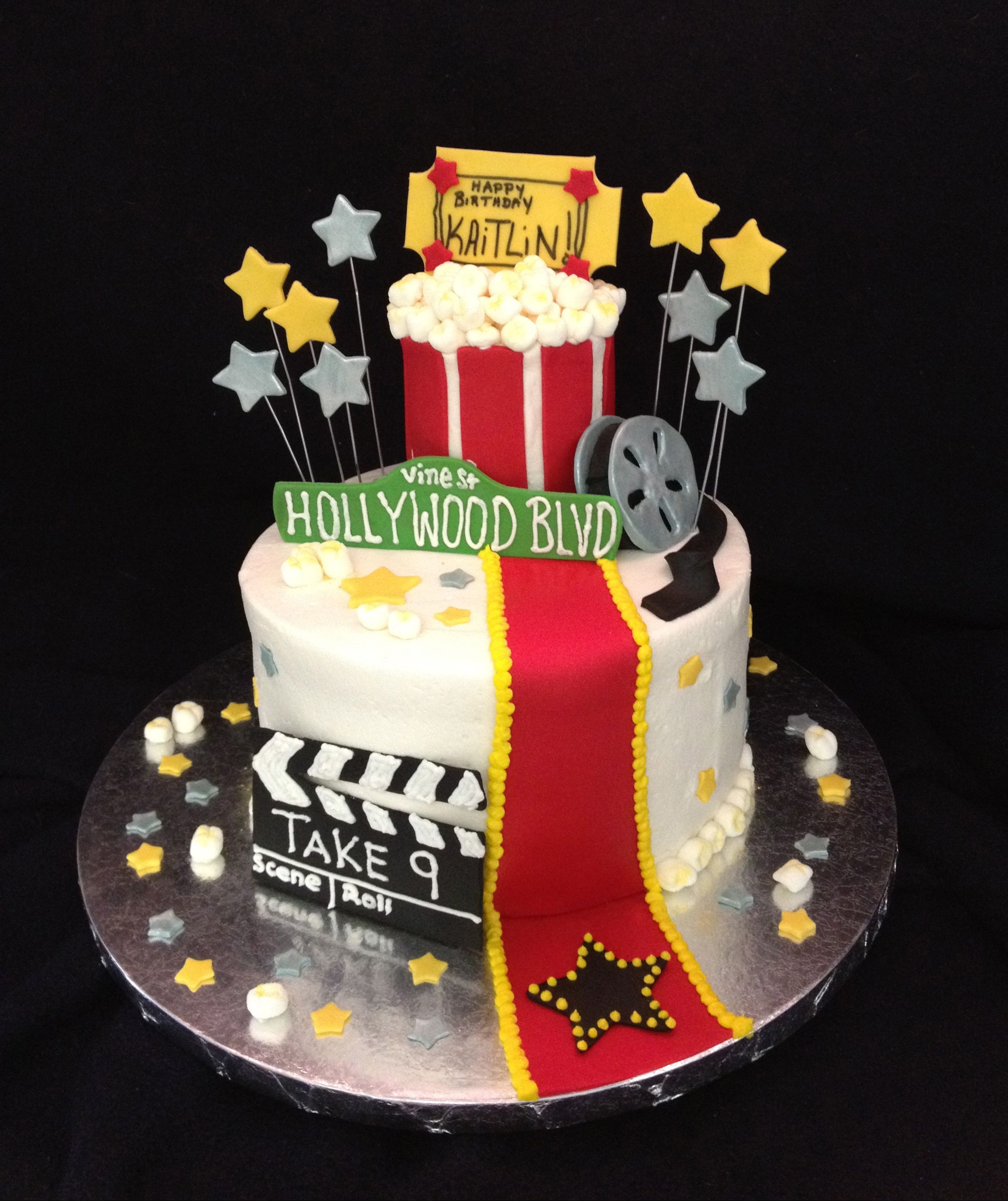 Peachy Movie Themed Birthday Cake With Images Boy Birthday Cake Funny Birthday Cards Online Alyptdamsfinfo