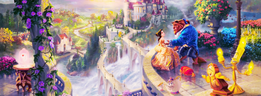 Beauty And The Beast Fb Cover Facebook Cover Photos Pinterest