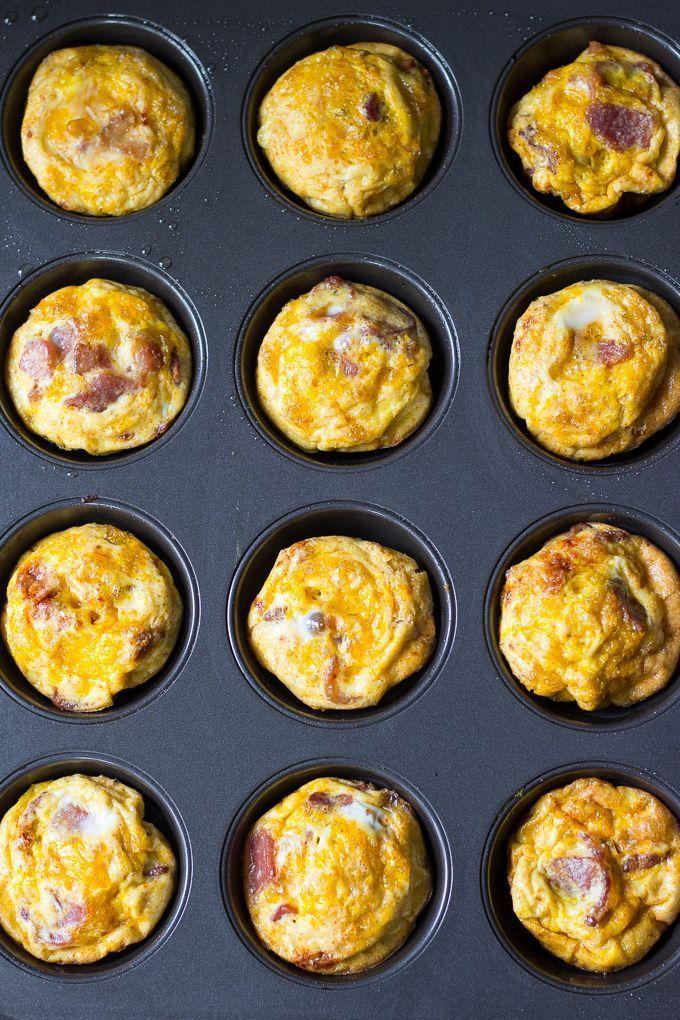 Potato Bacon Egg Muffins (Paleo & Whole30)  - Healthy !! -