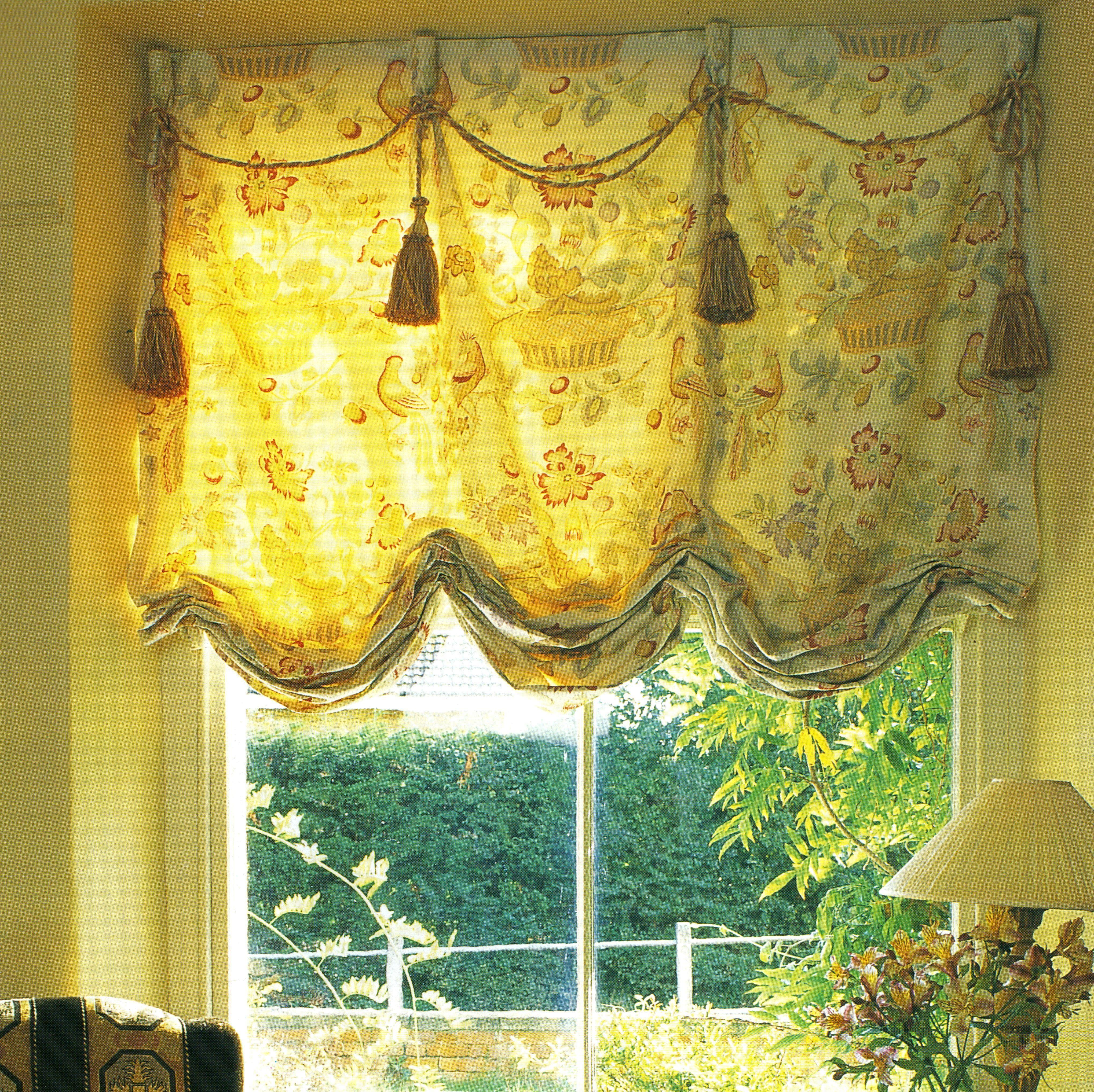 austrian blinds for the home pinterest fenster. Black Bedroom Furniture Sets. Home Design Ideas