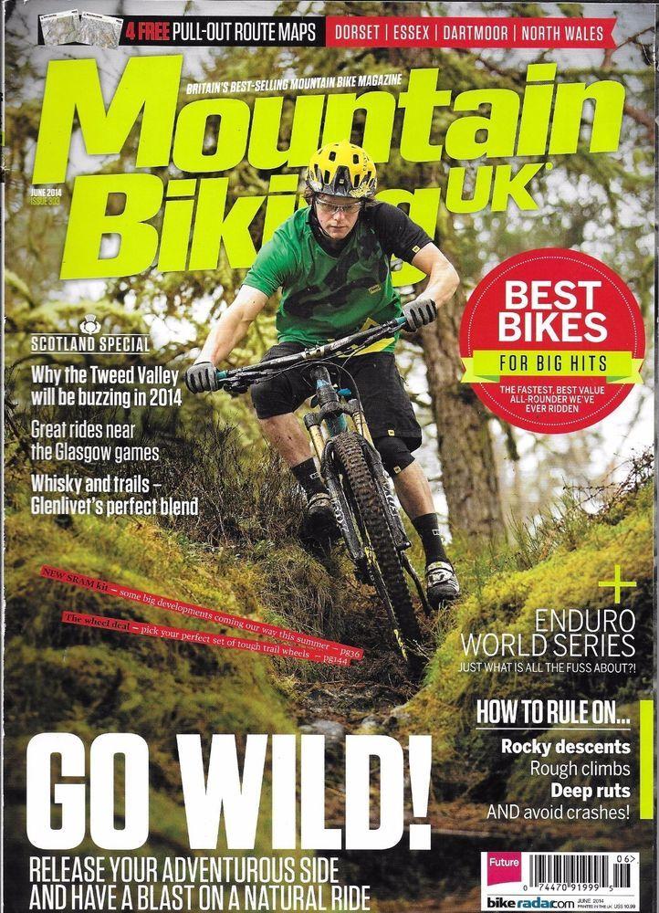 Mountain Biking Magazine Natural Ride Scotland Special Issue Best