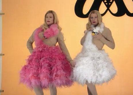 Image result for white chicks swan | White chicks, Fashion ... |White Chicks Shopping Dresses