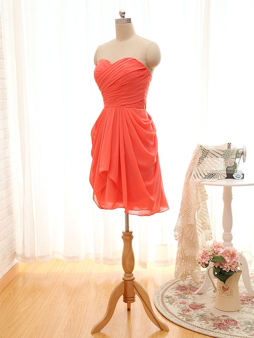 Click to buy ucuc wejanedress chiffon short bridesmaid dresses