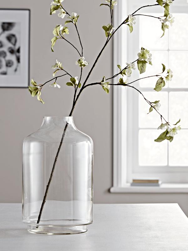 Elegant Oversized Glass Vase Glass Vase Decor Glass Vase Vases Decor
