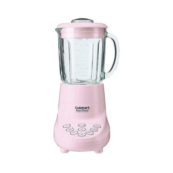 Cuisinart Smartpower 7 Speed Blender In Pink Spb 7pk Electronic Blender Glass Blender Cuisinart