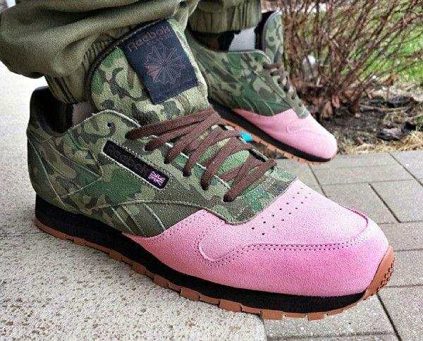La sneaker camouflage : décryptage de la tendance | Reebok