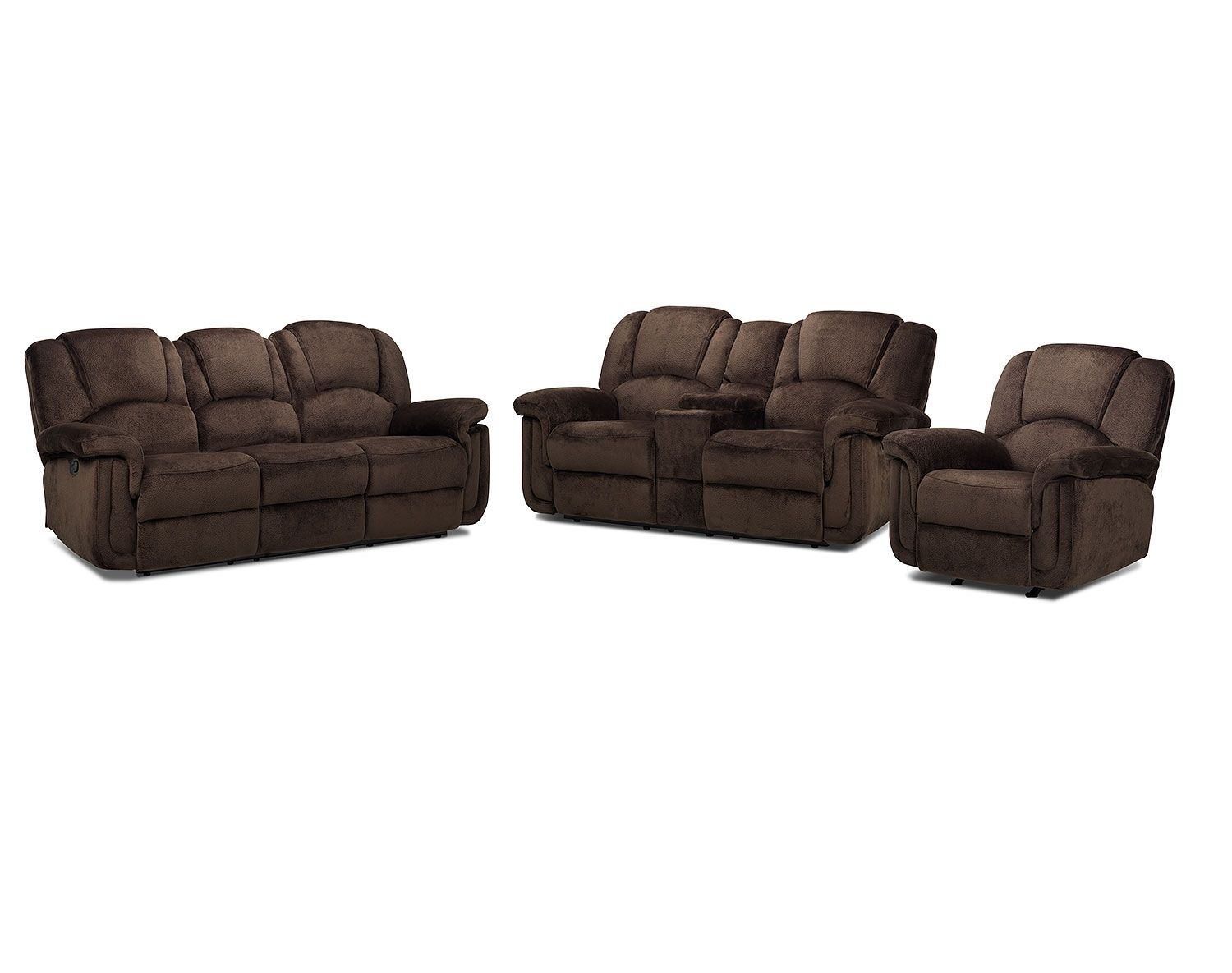Living Room Furniture The Pitch Collection Reclining Sofa Leons