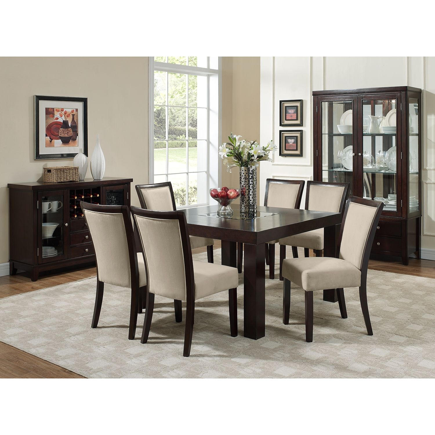 "50 Best Dining Room Sets For 2017: Tango Stone 7 Pc. Dinette (50"" Table)"