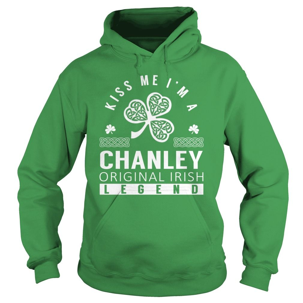 Kiss Me CHANLEY Last Name, Surname T-Shirt