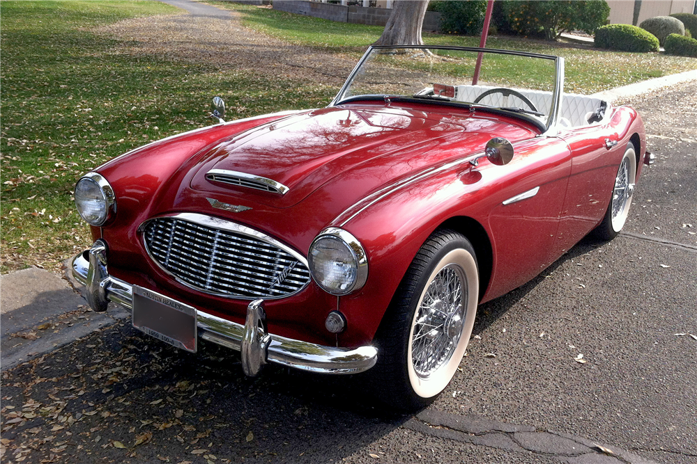 For Sale At Auction This Austin Healey Is One Of The Last With