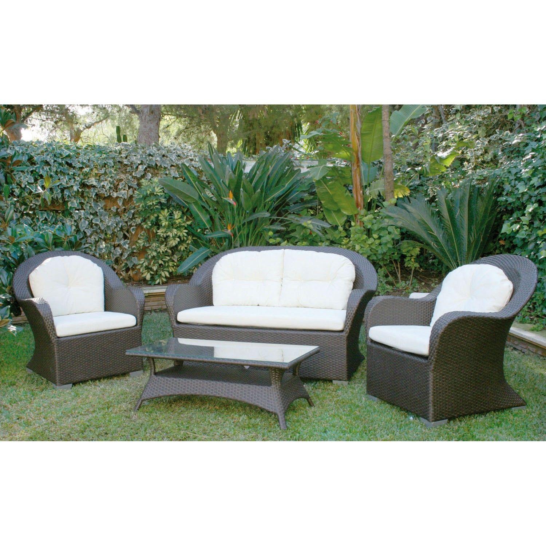 majestic garden conjunto sofs de exterior napolen el set de exterior napolen de majestic garden est - Sillones Exterior