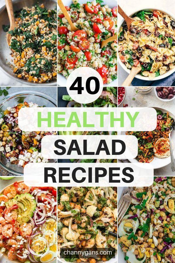Salad Recipes: 40 Delicious & Healthy Salad Recipes images