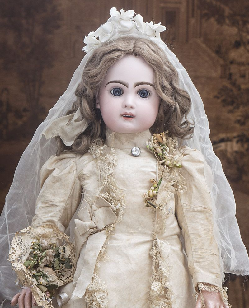 62 см Кукла Jumeau с музыкальным механизмом, в ...