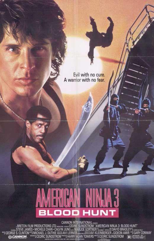 American Ninja 3 Blood Hunt 1989 Steve James Dvd Movie