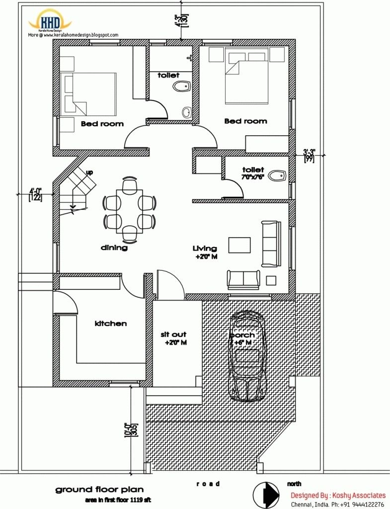 Tamilnadu House Plans North Facing Home Design Home Design