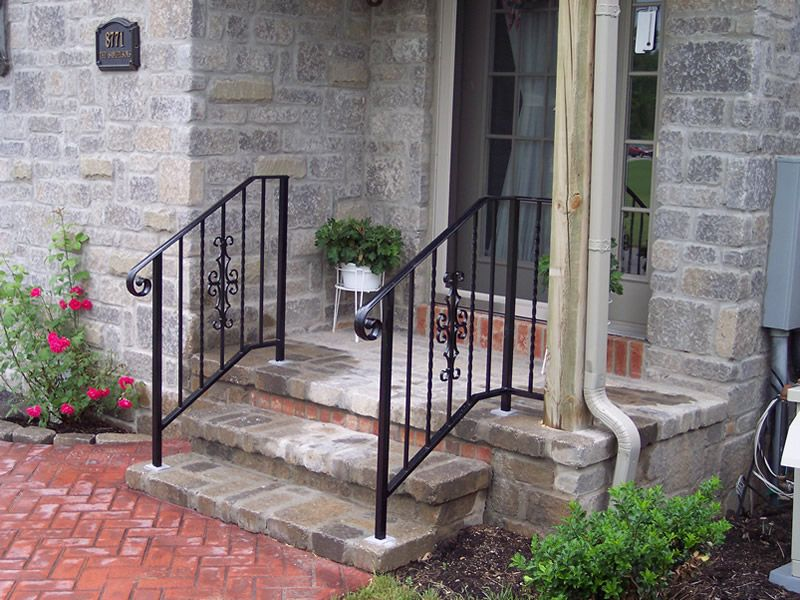 Best Exterior Aluminum Stair Railings Iron Railings Outdoor 400 x 300
