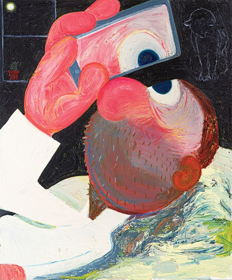 Painter Nicole Eisenman Talks Humor And Art With Cultured Art Art Painting New Museum