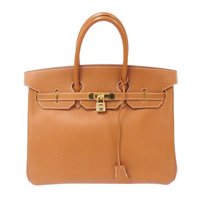 801c904231f9 Hermes 35cm Natural Epsom Birkin Handbag