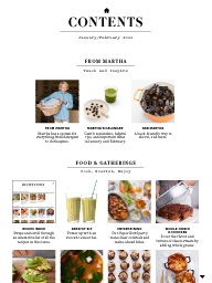 """I saw this in """"Table of Contents"""" in Martha Stewart Living January February 2014."""