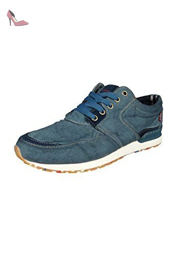 Levi's blanc Tab 223277 802, Sneakers Basses Homme, Gris (58), 45 EU