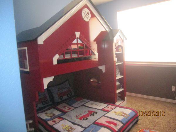 Bunk Bed Awsome Fireman Bed Fireman Room Kid Spaces Big Boy Room