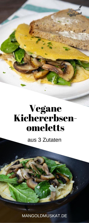 Vegane Kichererbsenomeletts Rezept In 2020 Rezepte Omelett Rezeptideen
