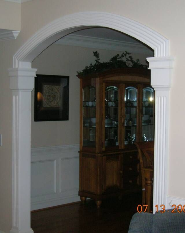 interior archway trim if it s broke we can fix it house ideas rh pinterest com