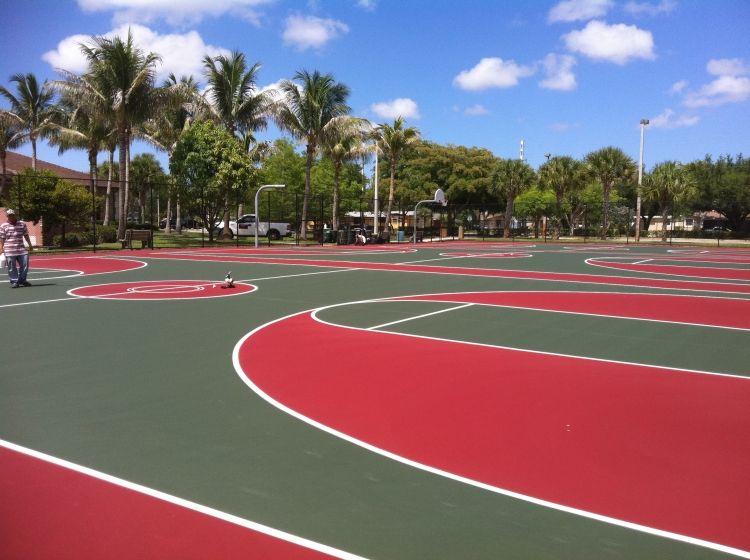 Basketball Court Resurfacing Basketball Court Resurface Palm Beach