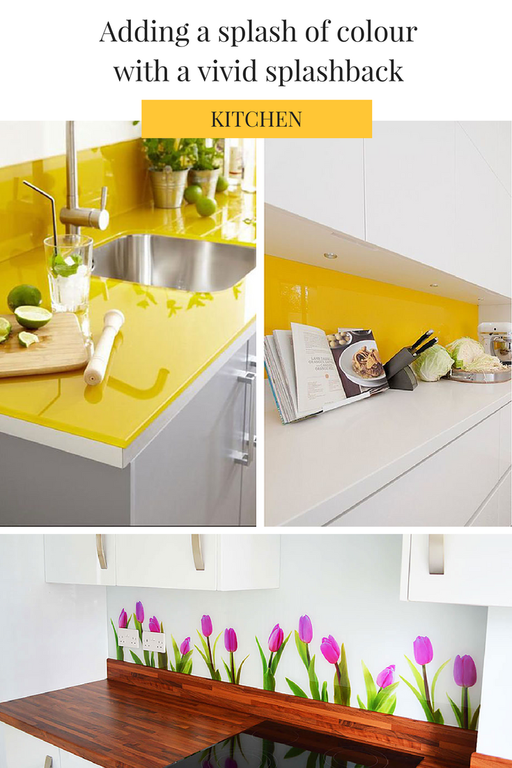 just like tiles a glass splashback can come in a range of solid rh pinterest com