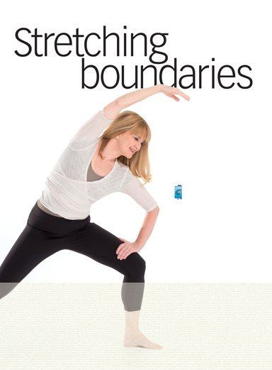 BRICK WALL, ballet barre, wood floor, mirrors to the ...