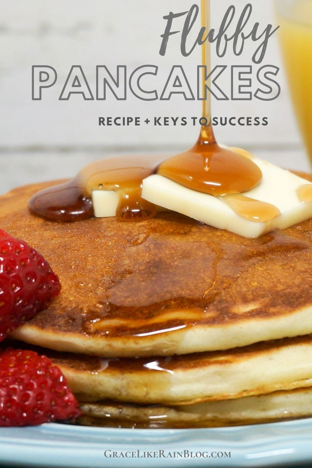 Fluffy Pancakes Recipe In 2020 Recipes Fluffy Pancakes Breakfast Recipes Easy