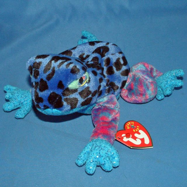 TY Beanie Babies DART The Frog - MWMTs! Retired!  Ty  ce0200ee776