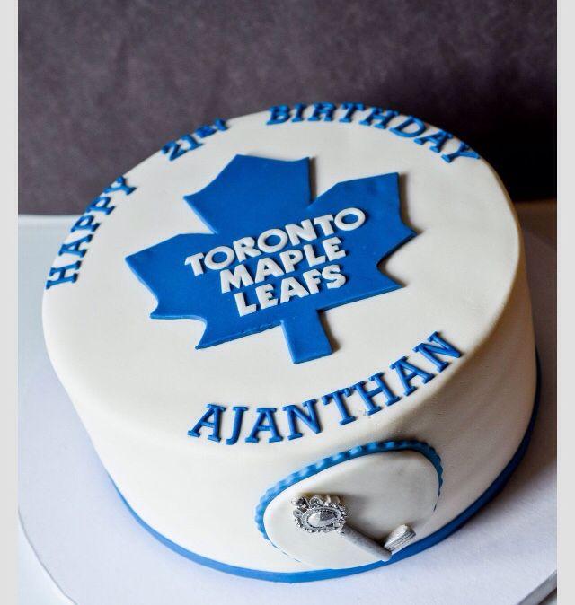Toronto Maple Leafs Bday Cake Party Ideas Pinterest Toronto