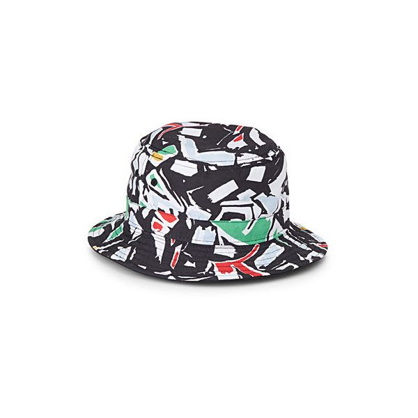771434abbcdba Vans Modern camouflage bucket hat ( 35) ❤ liked on Polyvore featuring  accessories