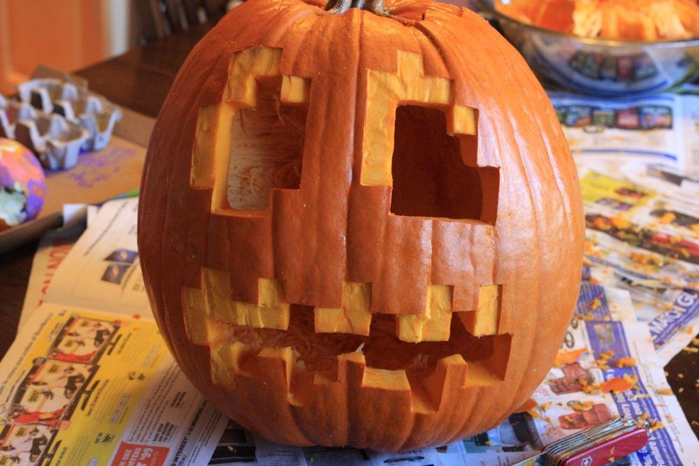 Minecraft pumpkin | Pumpkin carving, Minecraft pumpkin ...
