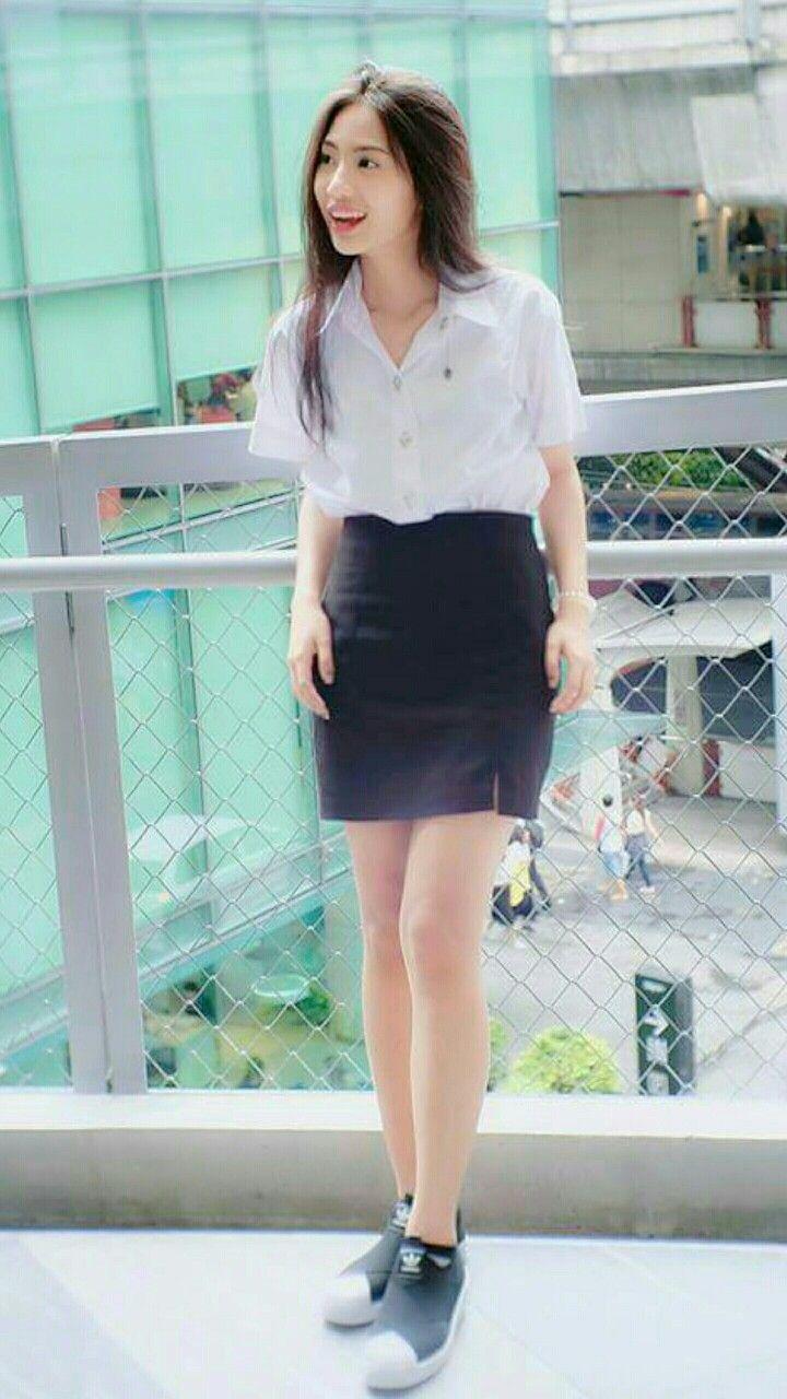 f1fc751fab4 Noodee Thai University girl | Girl T | University girl, Mini skirts ...