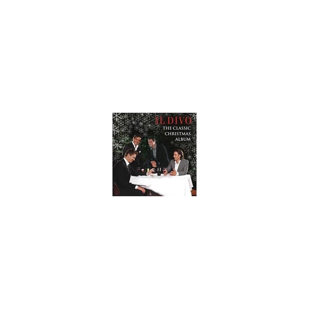 Il Divo - Classic Christmas Album:Il Divo (CD) | Christmas albums ...