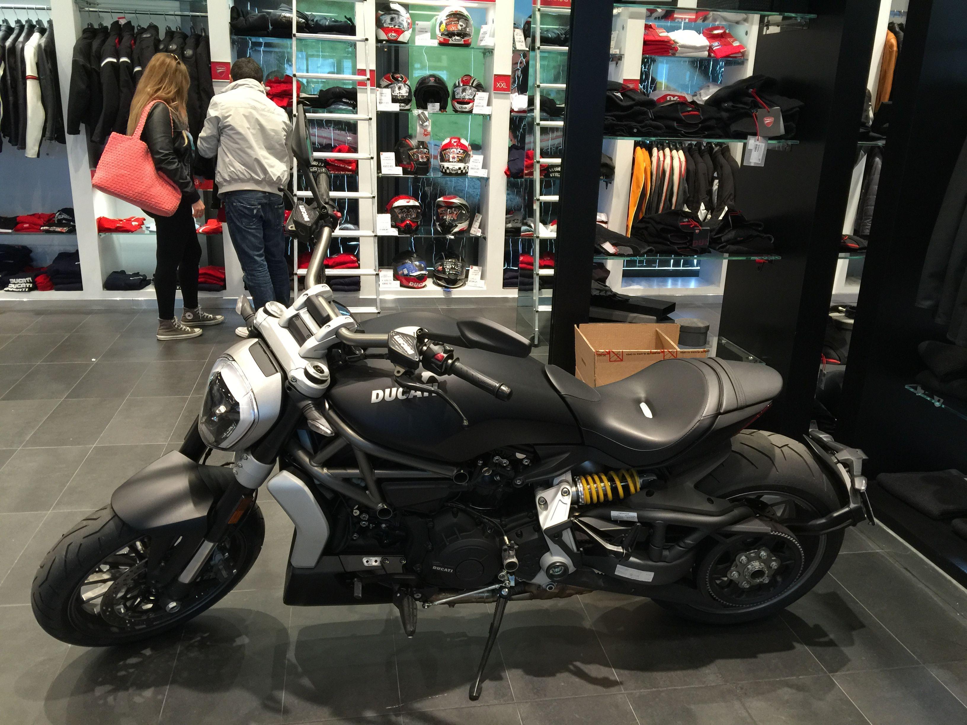 Ducati store in Bologna
