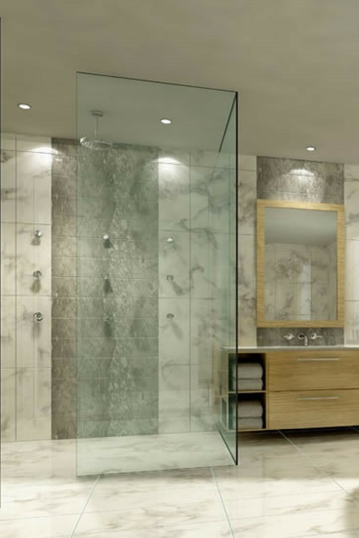 types of glass shower doors for the modern homeowners bathroom rh pinterest com