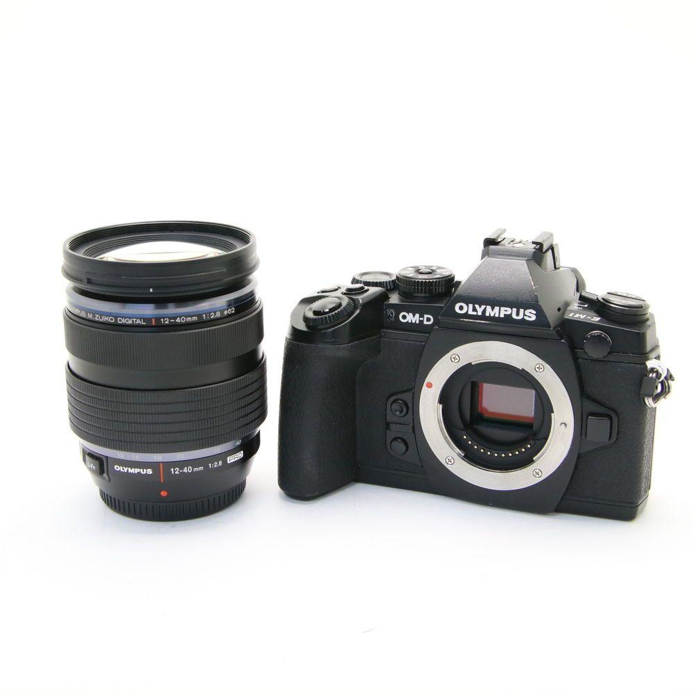 Olympus Om D E M1 12 40mm F28 Lens Kit Black Digital Cameras Panasonic Lumix Gx85k Lensa 32mm Kamera Dmc Gx85