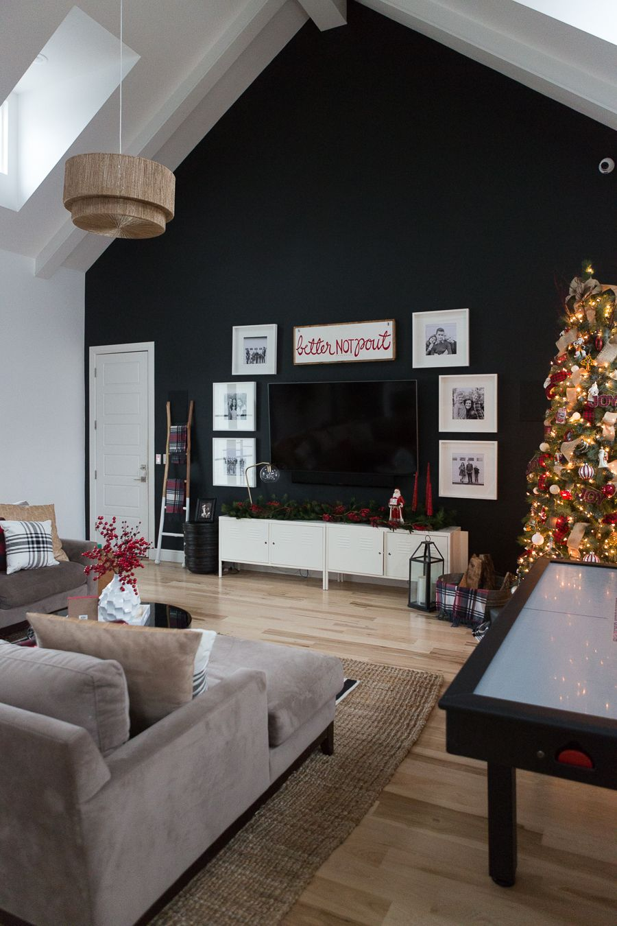 CC and Mikeu0027s Modern Eclectic Christmas Home