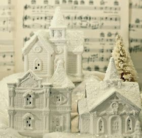 I've always  been intrigued by those elaborate Christmas Villages, but they are very costly not to mention time consuming to put up and tak...