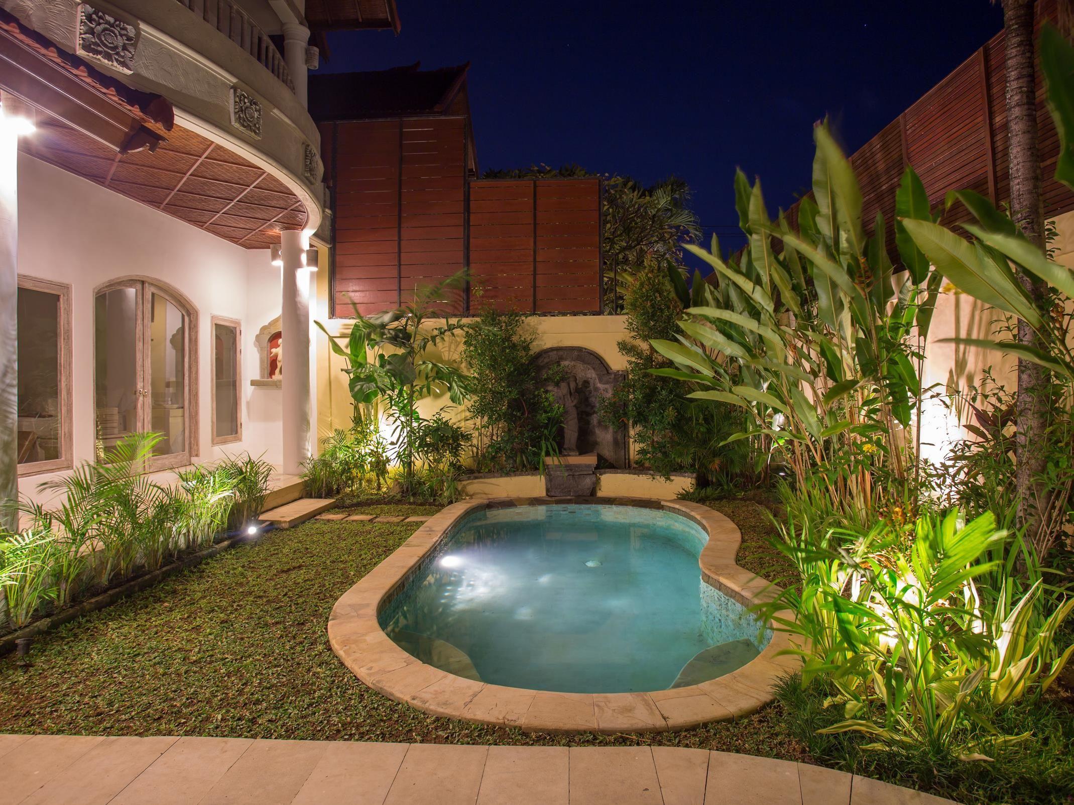 Bali Tropical Garden Villa Seminyak Indonesia, Asia Set in a prime ...