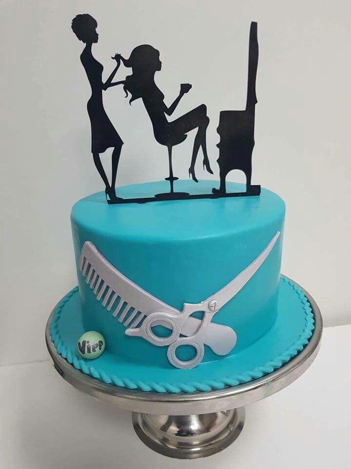 Happpppppy Birthday Chordi Enjoyyyyyyy Hairdresser Cake Cake Silhouette Cake