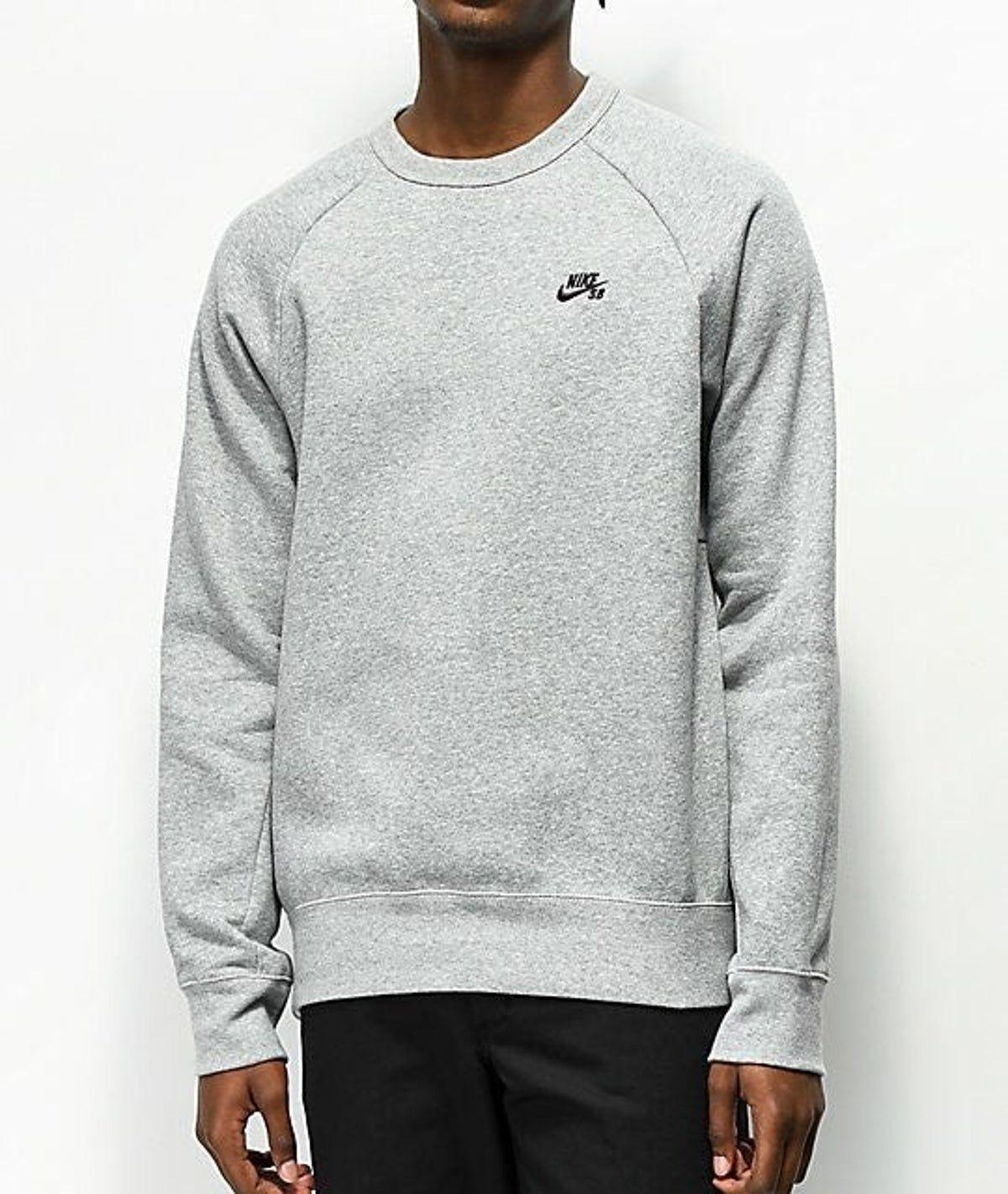 Nike Sb Icon Crew Neck Sweatshirt [ 1422 x 1200 Pixel ]