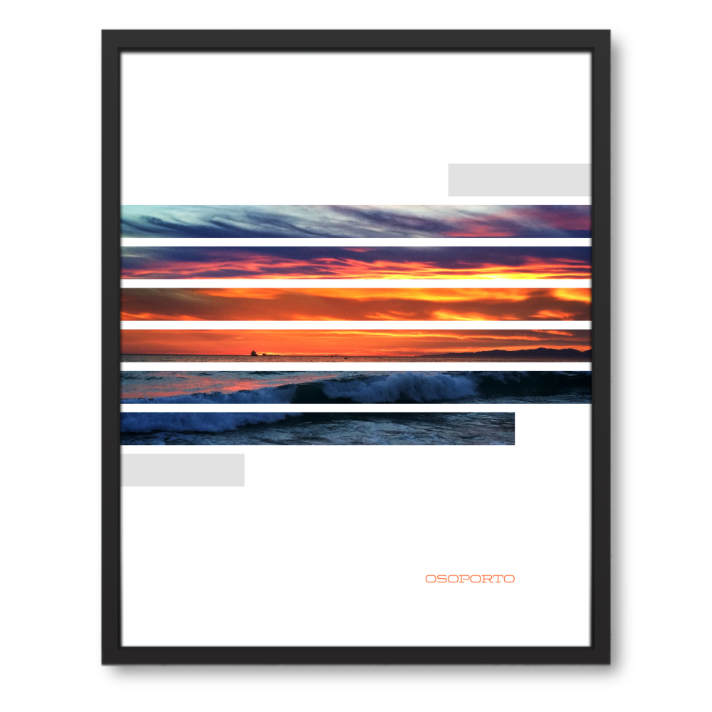 Sunstripes Art Poster With Images Beach Posters Poster Graphic Poster
