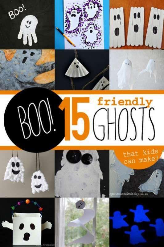 12 Halloween Activities for Kids Major holidays, Ghost crafts and - halloween arts and crafts decorations